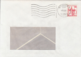 84029- CASTLE STAMPS ON COVER, 1991, GERMANY - [7] Repubblica Federale
