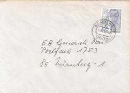 84033- WERNER BERGENFRUEN STAMPS ON COVER, 1992, GERMANY - [7] Repubblica Federale