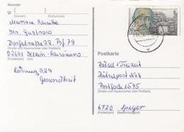 84086- HEINRICH SCHLIEMANN STAMP ON POSTCARD, 1991, GERMANY - Storia Postale