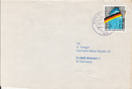 84139-FALL  OF THE BERLIN WALL STAMPS ON COVER, 1991, GERMANY - [7] Repubblica Federale