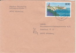 84140- RUGEN ISLAND, LIGHTHOUSE STAMPS ON COVER, 1993, GERMANY - [7] Repubblica Federale