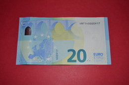 FRANCE 20 EURO U006I2 - UB7140000917 - EURO