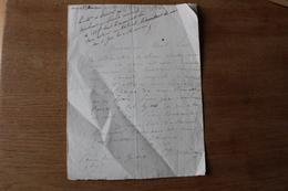 Autographe Maréchal Maison  ( 1771 1840) - Documents Historiques