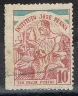 Viñeta, Vignette INSTITUTO JOSE PENNA, Argentina (Buenos Aires) Enfermedades Contagiosas. Label, Cinderella º - Argentina