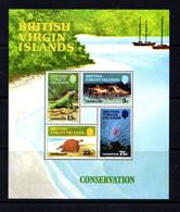 BRITISH  VIRGIN ISLANDS    1979    Wildlife  Conservation    Sheetlet    MNH - British Virgin Islands
