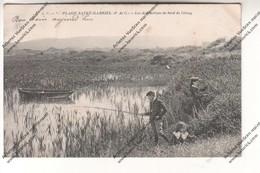 Lot 2 CPA Pas De Calais : Plage Saint Gabriel - Les Distractions Du Bord De L'étang (pêche) Et Chalet De L'Alliance - Unclassified