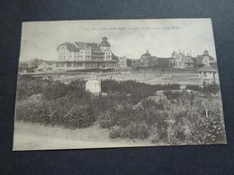 Belgique  België  ( 1818 )  De Haan   Coq Sur Mer    Jeux De Tennis Et Grand Hôtel - De Haan