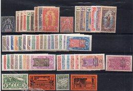 Congo : Lot, Collection De 52 Timbres Différents Neufs ** Ou * - Cote 170€ - Congo Français (1891-1960)
