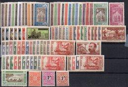 Côte D'Ivoire : Lot, Collection De 81 Timbres Différents Neufs ** Ou * - Cote 142€ - Neufs