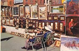 Pays Div-ref W594- Etats Unis D Amerique -usa -united States - New York City - Greenwich Village - Artists - Peintres - - Greenwich Village
