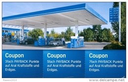 AK BRD Aral Tankstelle + Autos Coupon-Kraftstoffe Und Erdgas - Ansichtskarten