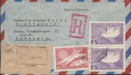 3452, Carta Aerea Certificada Asuncion Paraguay - Paraguay