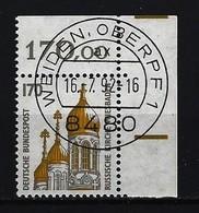 BUND Mi-Nr. 1535 Rechtes, Oberes Eckandstück Gestempelt - [7] République Fédérale