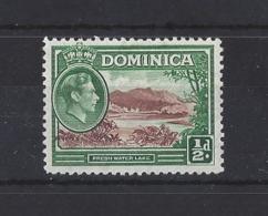 DOMINICA....KING GEORGE VI.(1936-52)....HALFd......SG99.....MH.. - Dominica (...-1978)