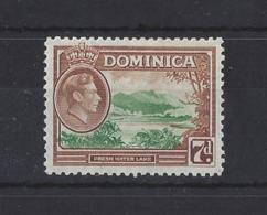 DOMINICA....KING GEORGE VI.(1936-52)....7d......SG105a.......MH.. - Dominica (...-1978)