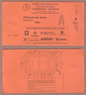 AC -  LUXEMBOURGvs BELGIUM FOOTBALL - SOCCER TICKET 18 NOVEMBER 1998 - Tickets - Entradas
