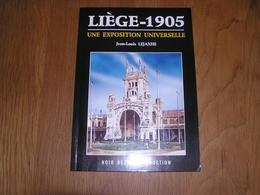 LIEGE 1905 Une Exposition Universelle Régionalisme Expo Pavillon Meuse Belgique Travaux Construction Vennes Droihxe - België