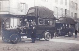 63 - Puy De Dome -carte Photo - ISSOIRE - Autocars Sociéte Generale Des Transports Automobiles De France - RARE - Issoire