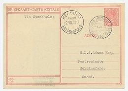 VH A 139 I Amsterdam - Helsingfors Finland 1936 - Periode 1891-1948 (Wilhelmina)