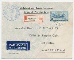 VH A 217 Brussel Belgie - Amsterdam 1946 - Periode 1891-1948 (Wilhelmina)