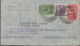3452, Carta Aérea Rio De Janeiro, Via Air France ,1934, - Lettres & Documents