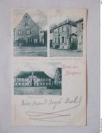 CPA GRUSS AUS BERGHEIM 1900 - Francia