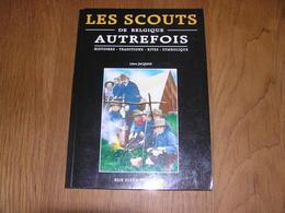 LES SCOUTS DE BELGIQUE AUTREFOIS Régionalisme Scoutisme Scout Baden Powell Guides Filles Camps Eclaireurs Totem - Belgium