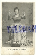 La Femme Homard - Cirque