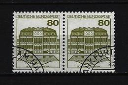 BUND - Mi-Nr. 1140 Waagrechtes Paar Gestempelt - Gebraucht