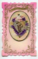 STE SAINTE CATHERINE 0051 Carte Systeme Tirette Effet POP  UP    Couple Amoureux   Entourage Doré - Santa Caterina