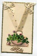 ST SAINT ELOI  0096   Ajoutis Collage Corbeille Fleurs Rubans Noeuds   écrite Voir Dos - Holidays & Celebrations