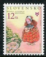 SLOVAKIA 2003 Book Illustrations Biennial  MNH / **.  Michel 465 - Nuevos