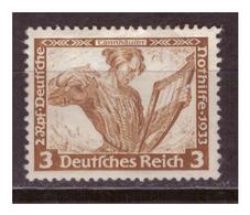 3.Reich: 1933: Nr. 499 A, Postfrisch - Deutschland