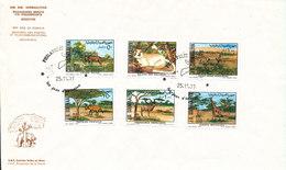 Somalia FDC 25-11-1977 Fauna Complete Set Of 6 With Cachet - Somalie (1960-...)