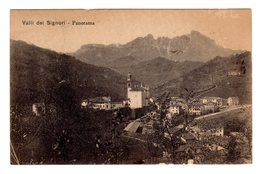 VALLI DEI SIGNORI PANORAMA  1916 - Vicenza
