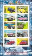 Frankreich, 2000,  3458/67 Kleinbogen,  MNH **,  Oldtimer-Automobile. - Nuevos