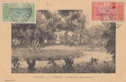 CARTE DAHOMEY 1919. COTONOU LE MONUMENT DES COMBATTANTS /   2 - Dahomey (1899-1944)