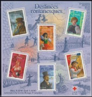 Frankreich, 2003,  3730/35 Block 33, MNH ** , Romanfiguren Französischer Schriftsteller. - Blocs & Feuillets