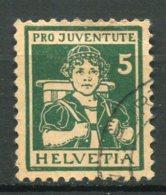 15897 SUISSE N°152° 5c.(+5.)  Bernoise  Pro Juventute 1916   TB - Pro Juventute