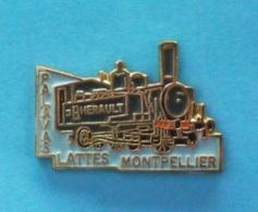 1 PIN'S //   ** LE PETIT TRAIN DE PALAVAS / LATTES / MONTPELLIER ** - TGV