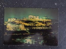 ATHENES - GRECE GREECE HELLAS - ACROPOLE LA NUIT - Grecia