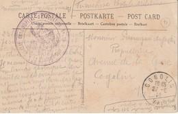 Franchise Postale Militaire - Annexe De L'Hopital D'Evacuation N°15- Dijon 21 : Place Du Théatre - Coll. A La Civette - Militaria