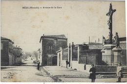 MEZE    AVENUE DE LA GARE - Mèze