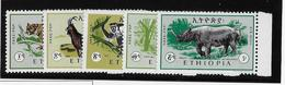 Ethiopie Poste Aérienne N°99/103 - Neuf ** Sans Charnière - TB - Ethiopie