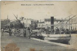 MEZE    AU PORT - Mèze