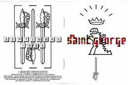CD N°5198 - SAINT GEORGE - COMPILATION 11 TITRES - HORS-COMMERCE + PETIT BOOK - Dance, Techno & House