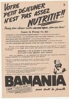 BANANIA - Page De Pub - Publicidad