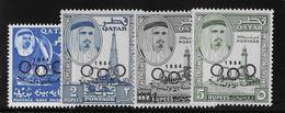 Qatar N°43/46 - Neuf ** Sans Charnière - TB - Qatar