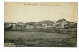Saint Aubin Sur Mer - Vue Générale Prise De La Plage - Circulé 1924 - Francia