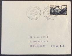42-1 Viaduc De Garabit 928 Saint Flour  FDC Premier Jour 5/7/1952 Lettre - FDC